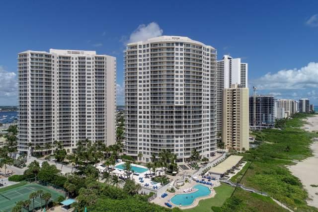 2700 N Ocean Drive 1004A, Singer Island, FL 33404 (MLS #RX-10560290) :: The Paiz Group