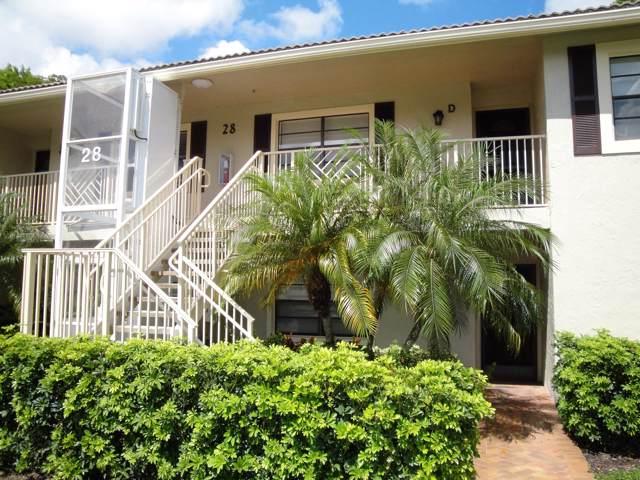 28 Stratford Lane D, Boynton Beach, FL 33436 (#RX-10560325) :: Ryan Jennings Group