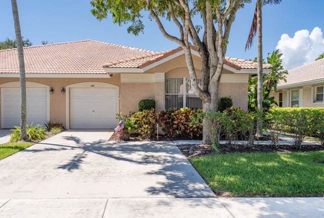 256 W Coral Trace Circle, Delray Beach, FL 33445 (#RX-10560718) :: The Reynolds Team/Treasure Coast Sotheby's International Realty