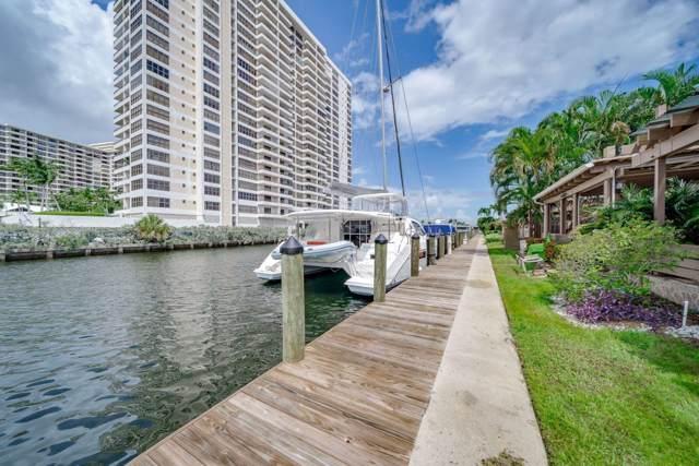 2645 S Parkview Drive #2645, Hallandale Beach, FL 33009 (MLS #RX-10560842) :: Castelli Real Estate Services