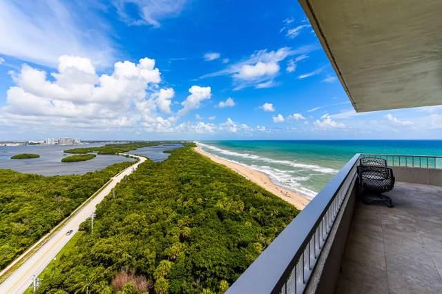 5550 N Ocean Drive 20C, Singer Island, FL 33404 (MLS #RX-10560910) :: Castelli Real Estate Services