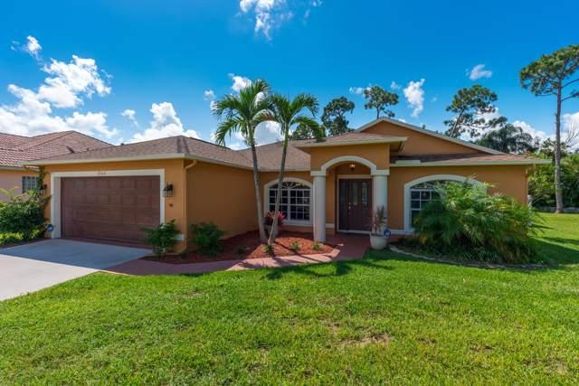 1864 SW Bellevue Avenue, Port Saint Lucie, FL 34953 (#RX-10560911) :: Ryan Jennings Group