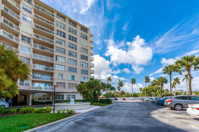 2600 N Flagler Drive #509, West Palm Beach, FL 33407 (#RX-10561256) :: Ryan Jennings Group
