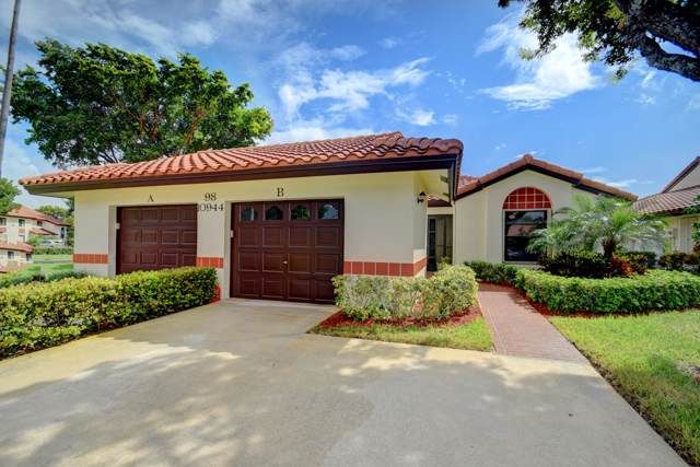 10944 Washingtonia Palm Court B, Boynton Beach, FL 33437 (#RX-10561294) :: Ryan Jennings Group