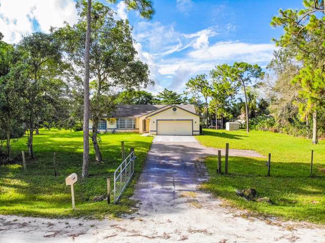 17454 49th Street N, Loxahatchee, FL 33470 (MLS #RX-10561983) :: Boca Lake Realty