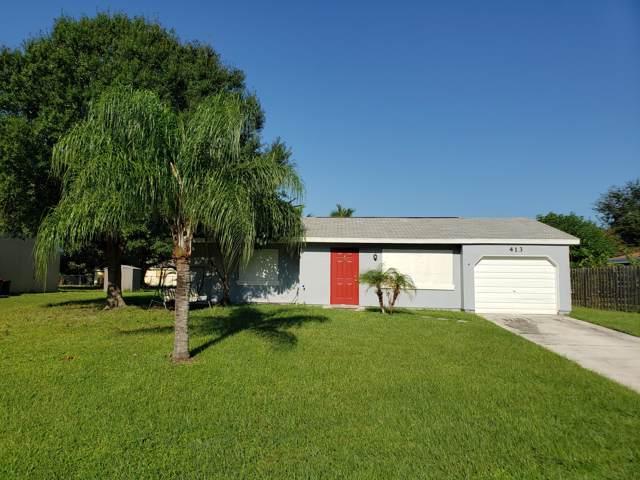 413 SW Tulip Boulevard, Port Saint Lucie, FL 34953 (#RX-10561989) :: Dalton Wade