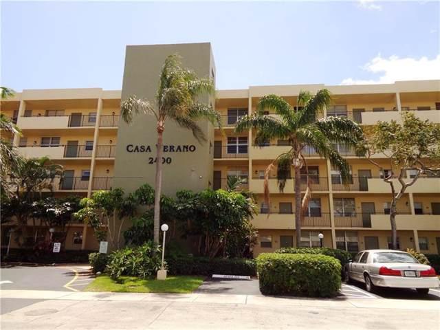 2400 NE 10th Street #408, Pompano Beach, FL 33062 (MLS #RX-10562145) :: Boca Lake Realty
