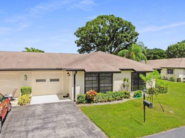 4840 Greentree Lane B, Boynton Beach, FL 33436 (#RX-10562188) :: Dalton Wade