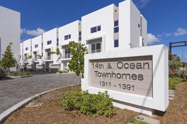 1387 N Ocean Boulevard, Pompano Beach, FL 33062 (MLS #RX-10562307) :: Boca Lake Realty