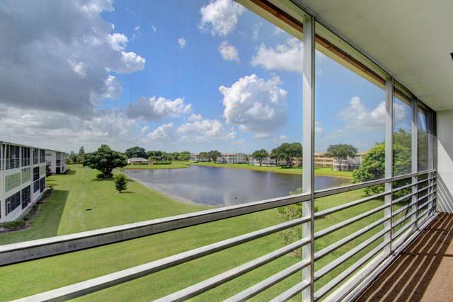 329 Preston H, Boca Raton, FL 33434 (MLS #RX-10562369) :: Boca Lake Realty