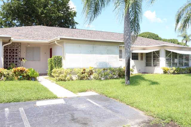1252 Club Drive W B, Delray Beach, FL 33445 (MLS #RX-10562696) :: The Nolan Group of RE/MAX Associated Realty