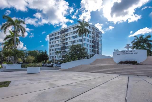 1500 Presidential Way #203, West Palm Beach, FL 33401 (#RX-10562731) :: Ryan Jennings Group