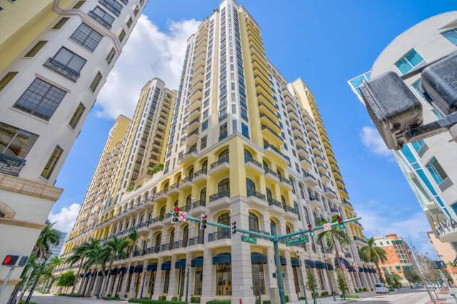 701 S Olive Avenue #411, West Palm Beach, FL 33401 (#RX-10562804) :: Ryan Jennings Group
