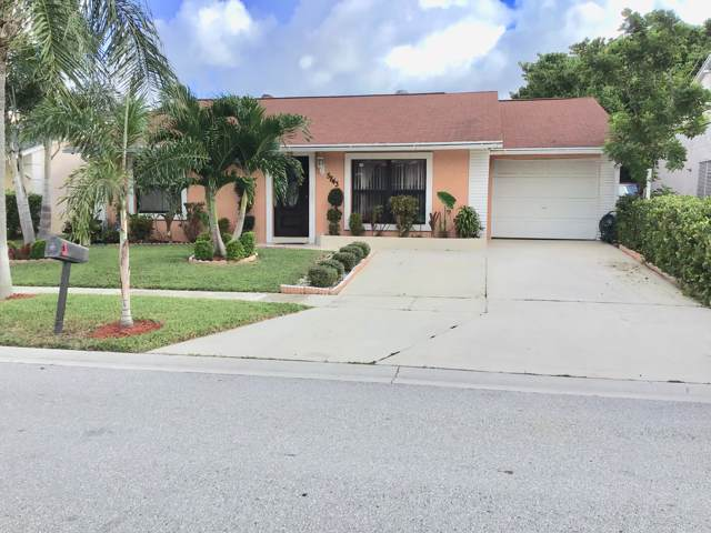 5843 Dewitt Place, Lake Worth, FL 33463 (MLS #RX-10563028) :: The Jack Coden Group