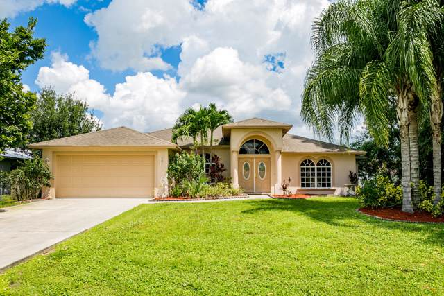 5202 NW Edgarton Terrace, Port Saint Lucie, FL 34953 (#RX-10563157) :: Ryan Jennings Group