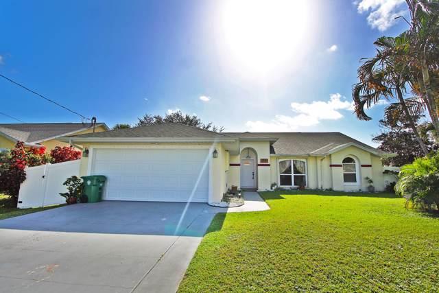 2581 SW Baer Street, Port Saint Lucie, FL 34953 (#RX-10563574) :: Ryan Jennings Group