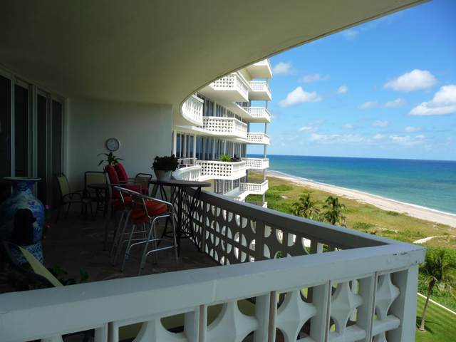 1225 S Ocean Boulevard #702, Delray Beach, FL 33483 (MLS #RX-10564011) :: Berkshire Hathaway HomeServices EWM Realty