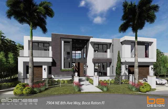 7904 NE Palm Way, Boca Raton, FL 33487 (MLS #RX-10564338) :: Laurie Finkelstein Reader Team
