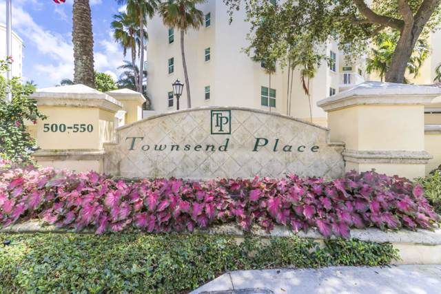 550 SE Mizner Boulevard B809, Boca Raton, FL 33432 (#RX-10564485) :: Posh Properties