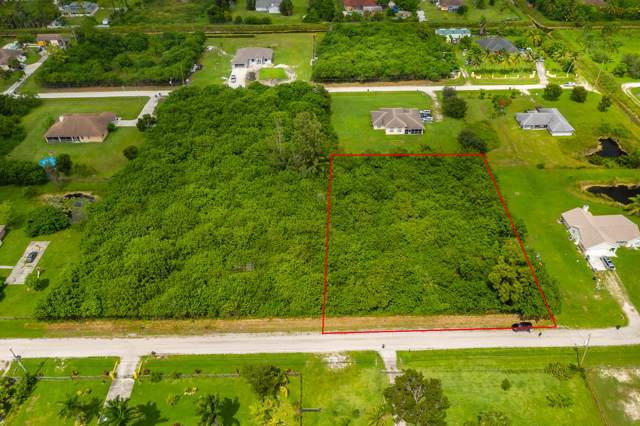 0 35th Place N, Loxahatchee, FL 33470 (MLS #RX-10565074) :: Castelli Real Estate Services