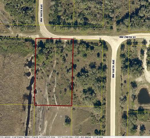 16066 NW 298th Street, Okeechobee, FL 34972 (MLS #RX-10565124) :: Berkshire Hathaway HomeServices EWM Realty