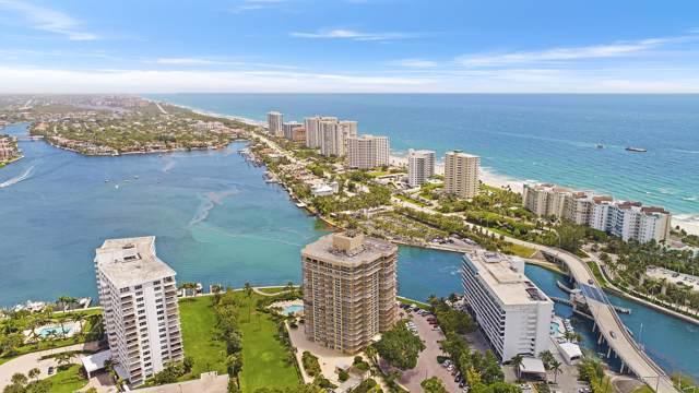 901 E Camino Real Ph-1D, Boca Raton, FL 33432 (#RX-10565274) :: Ryan Jennings Group