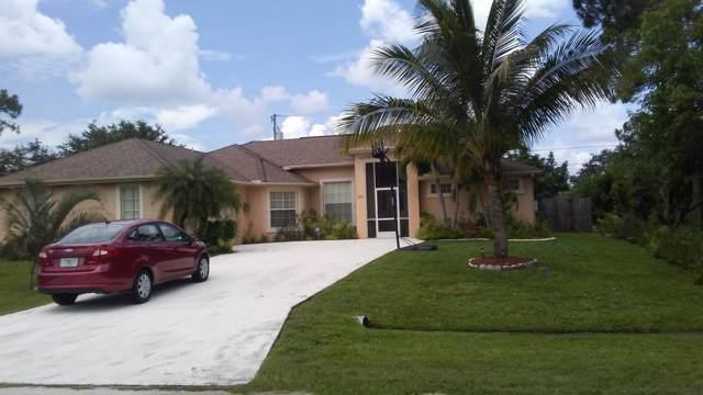 2574 SW Dania Street SW, Port Saint Lucie, FL 34953 (#RX-10565523) :: Ryan Jennings Group