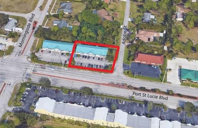 1821 SE Port St Lucie Boulevard, Port Saint Lucie, FL 34952 (#RX-10565886) :: Ryan Jennings Group
