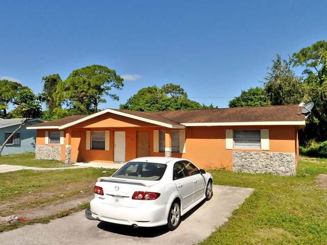 806 N Lake Drive, Fort Pierce, FL 34982 (#RX-10566020) :: Ryan Jennings Group