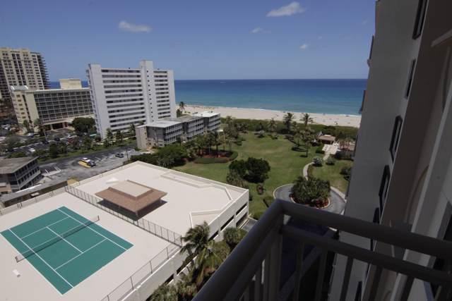 3400 N Ocean Drive #1205, Riviera Beach, FL 33404 (#RX-10566343) :: Ryan Jennings Group