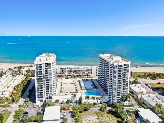 531 N Ocean Boulevard #902, Pompano Beach, FL 33062 (MLS #RX-10566815) :: Castelli Real Estate Services