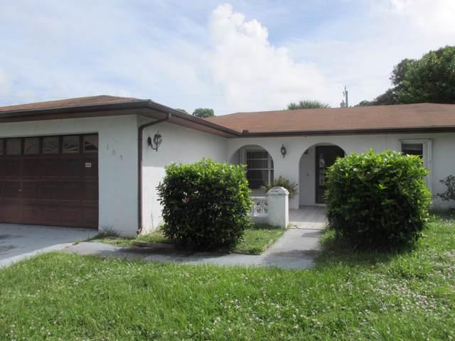 105 Lomas Court, Port Saint Lucie, FL 34952 (MLS #RX-10567497) :: Laurie Finkelstein Reader Team