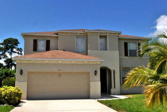 213 SW Exora Terr Terrace, Port Saint Lucie, FL 34953 (#RX-10567538) :: Ryan Jennings Group