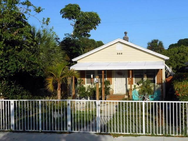 308 N J Street, Lake Worth Beach, FL 33460 (MLS #RX-10567594) :: Laurie Finkelstein Reader Team