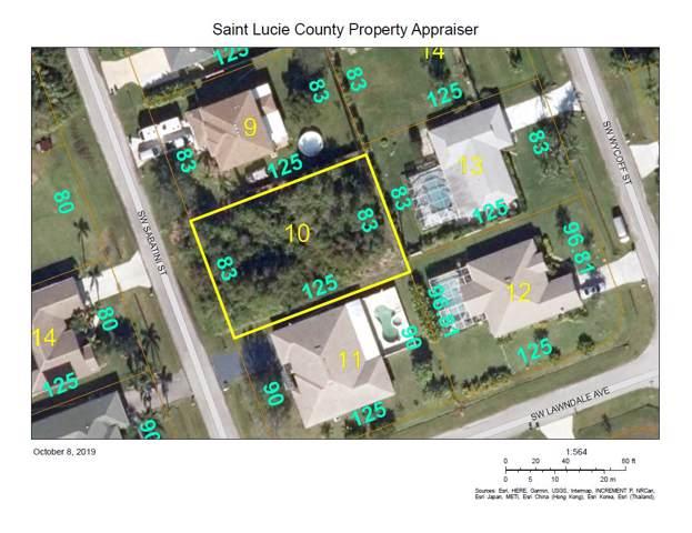 3791 SW Sabatini Street, Port Saint Lucie, FL 34953 (MLS #RX-10567894) :: Laurie Finkelstein Reader Team