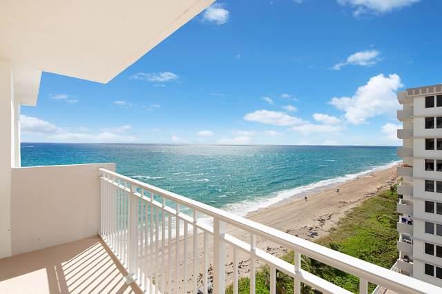 3221 S Ocean Boulevard #809, Highland Beach, FL 33487 (#RX-10568260) :: Ryan Jennings Group