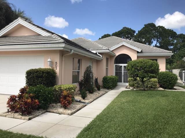 503 SW Hampton Court, Port Saint Lucie, FL 34986 (MLS #RX-10568436) :: The Nolan Group of RE/MAX Associated Realty
