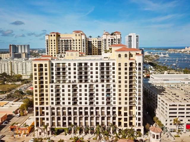 801 S Olive Avenue #1603, West Palm Beach, FL 33401 (#RX-10568558) :: Ryan Jennings Group
