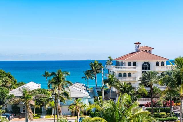 3450 S Ocean Boulevard #603, Highland Beach, FL 33487 (MLS #RX-10568863) :: Laurie Finkelstein Reader Team
