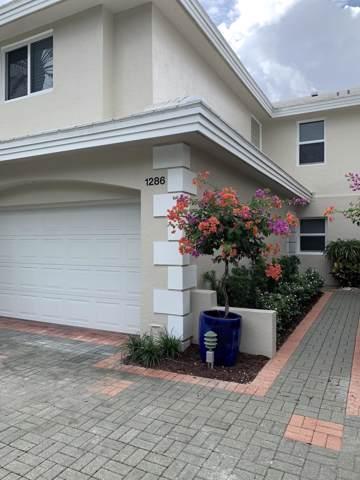 1286 George Bush Boulevard, Delray Beach, FL 33483 (MLS #RX-10569208) :: Best Florida Houses of RE/MAX