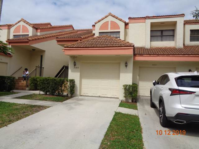 3345 Emerald Oaks Drive #106, Hollywood, FL 33021 (MLS #RX-10569259) :: Best Florida Houses of RE/MAX