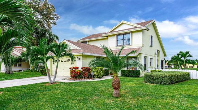 3850 Circle Lake Drive, West Palm Beach, FL 33417 (MLS #RX-10569340) :: The Jack Coden Group