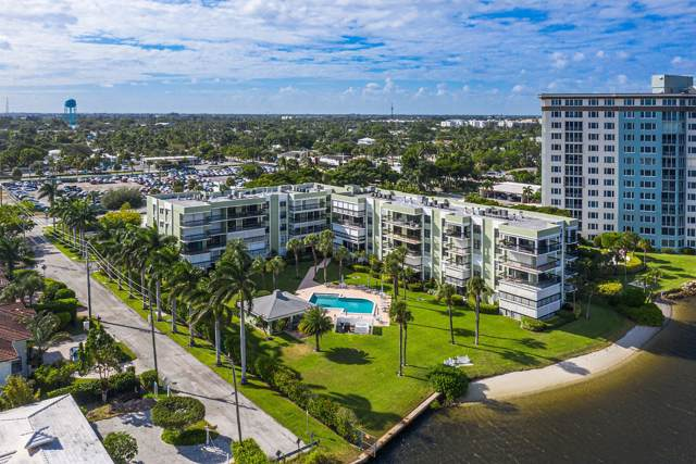 611 SE 7th Street #302, Delray Beach, FL 33483 (MLS #RX-10569399) :: Berkshire Hathaway HomeServices EWM Realty