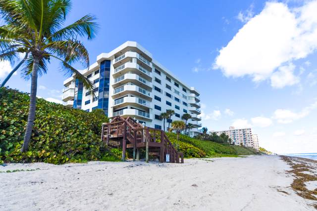 4605 S Ocean Boulevard 8C, Highland Beach, FL 33487 (#RX-10569429) :: Ryan Jennings Group