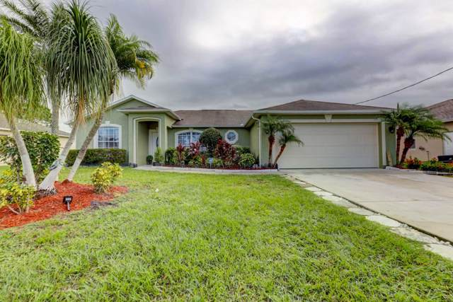 6447 NW Hacienda Lane, Port Saint Lucie, FL 34986 (MLS #RX-10569516) :: Laurie Finkelstein Reader Team