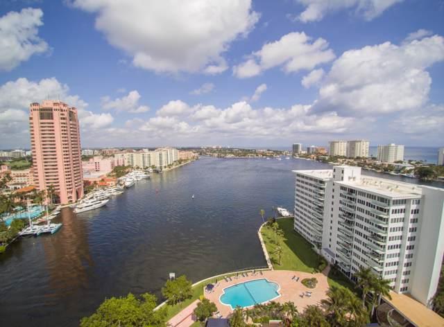 701 E Camino Real 11E, Boca Raton, FL 33432 (#RX-10569540) :: Posh Properties