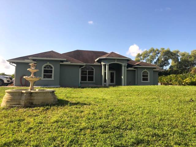 17378 38th Road, The Acreage, FL 33470 (MLS #RX-10569777) :: The Jack Coden Group