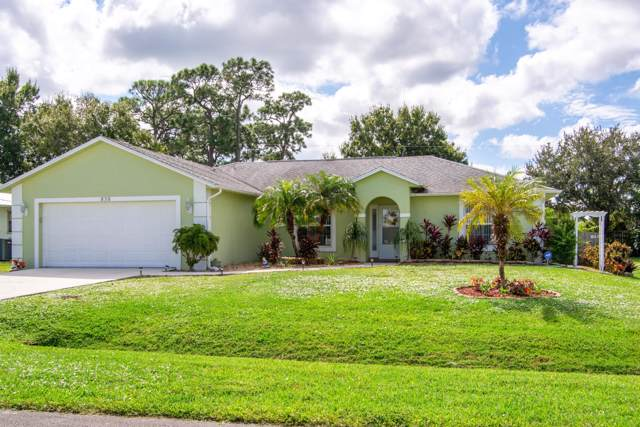 858 SE Carnival Avenue, Port Saint Lucie, FL 34983 (MLS #RX-10570407) :: Laurie Finkelstein Reader Team