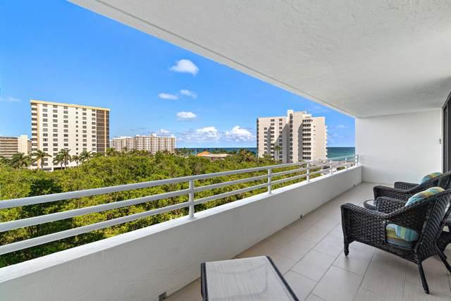 3450 S Ocean Boulevard #605, Highland Beach, FL 33487 (MLS #RX-10570419) :: Laurie Finkelstein Reader Team