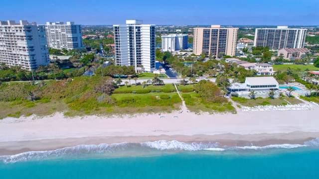 4545 N Ocean Boulevard 10B, Boca Raton, FL 33431 (MLS #RX-10570483) :: Laurie Finkelstein Reader Team